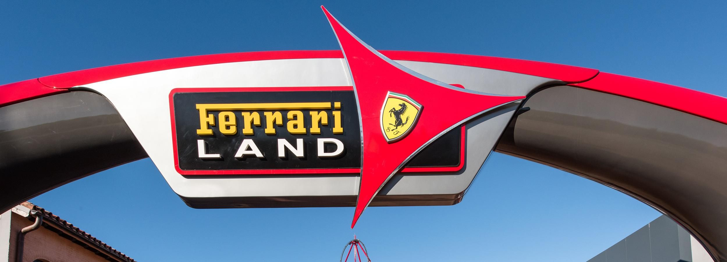 Salou: PortAventura Ferrari Land Admission Ticket
