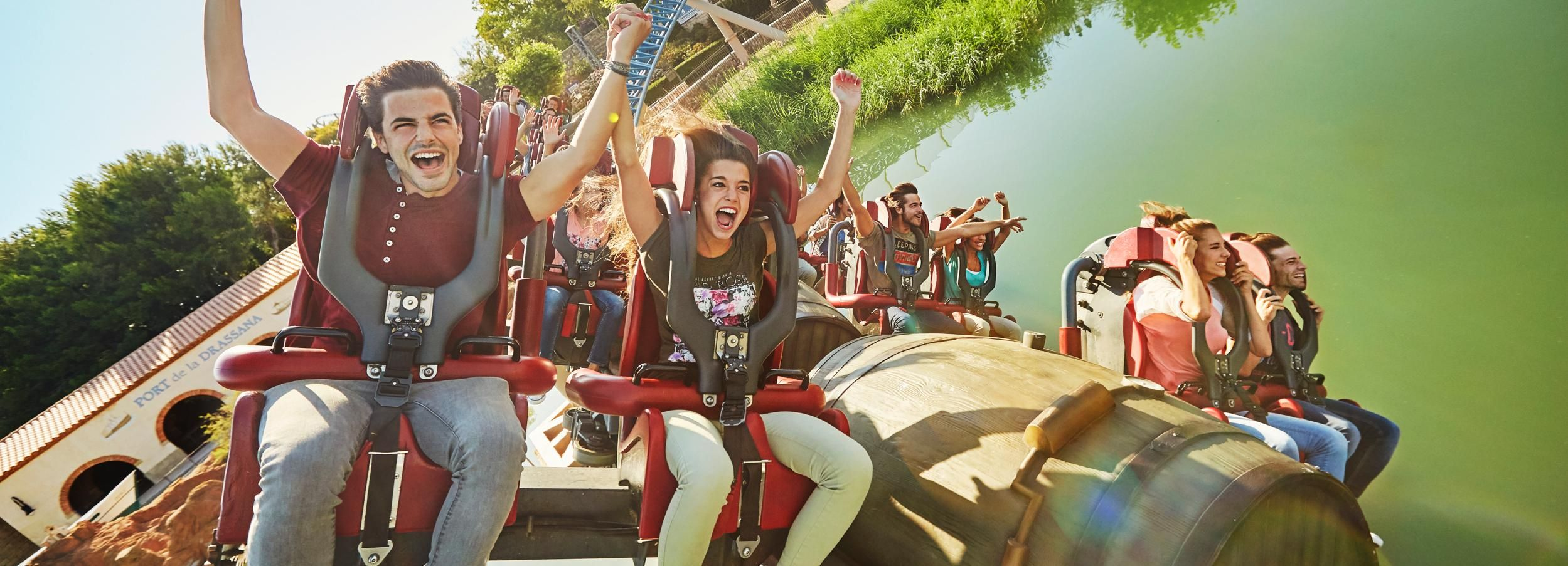 PortAventura & Ferrari Land Tickets: 1, 2, or 3-Day Entry