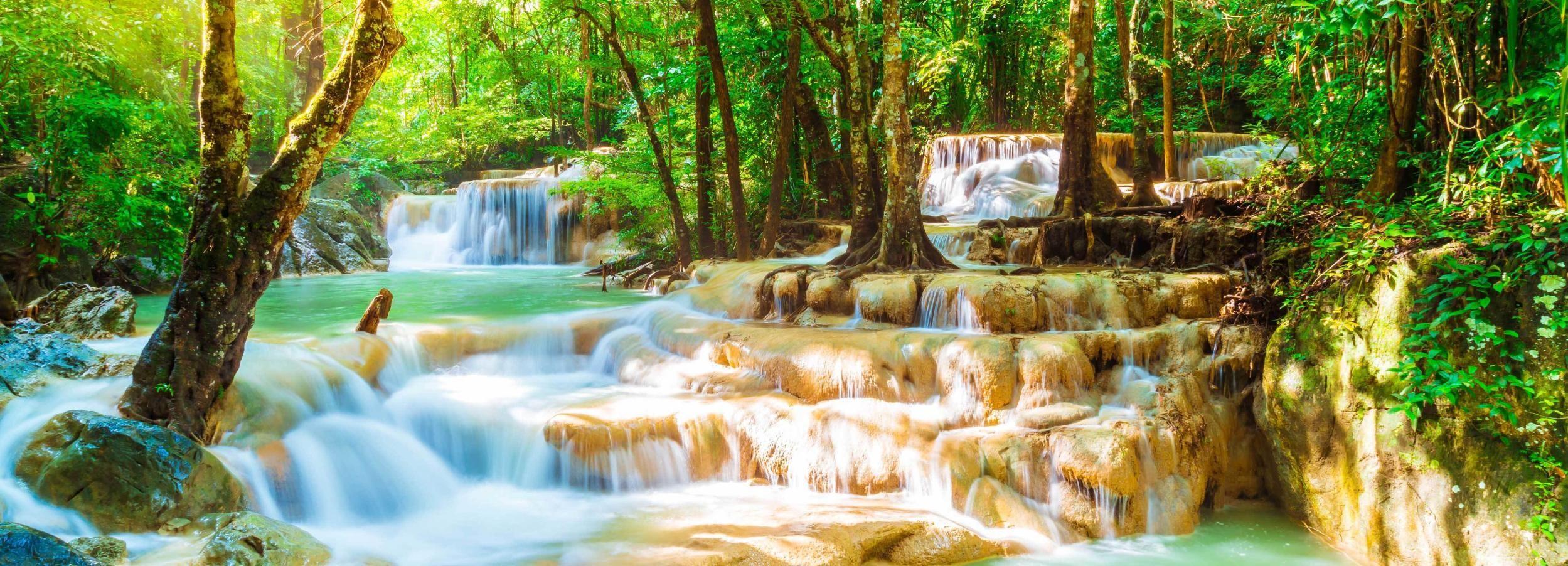 Parque Nacional de Erawan y Kanchanaburi: grupo reducido