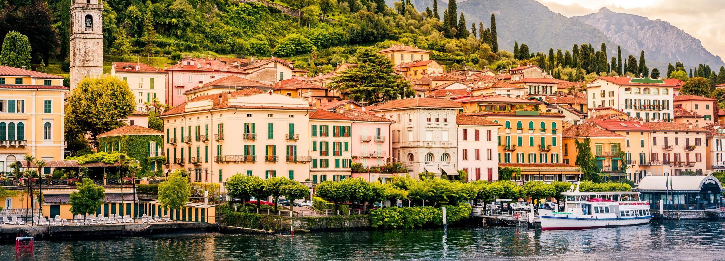 Lake Como: Luxury Bus From Milan to Visit Como and Bellagio