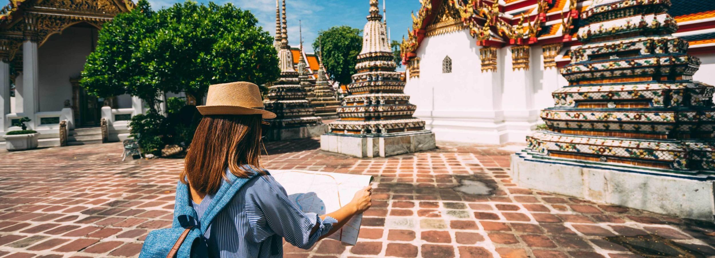 Bangkok: tour de medio día de lugares de Instagram y templos