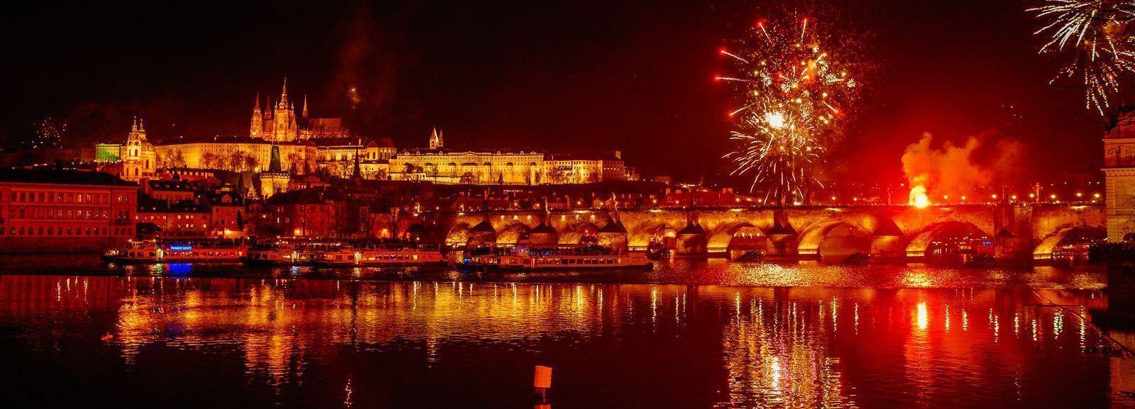 Praga: crucero de Nochevieja en Bohemia Rhapsody