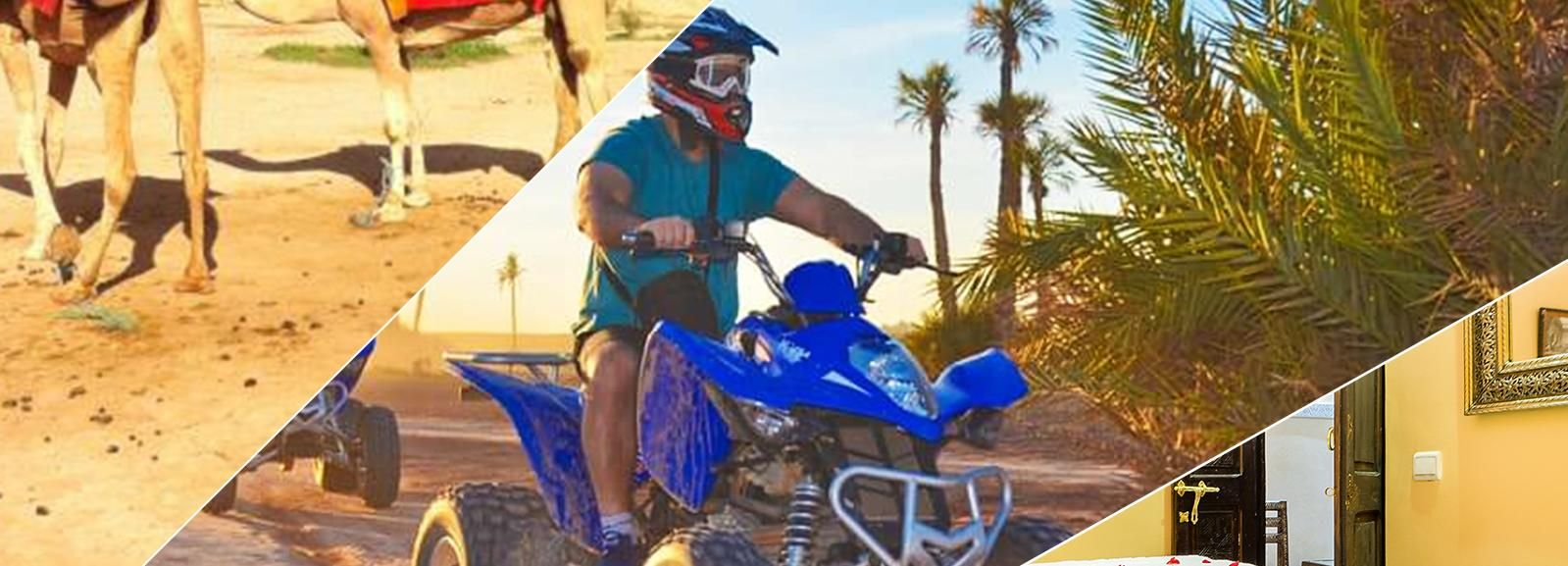 Marrakech: Day Trip with Camel Ride, Quad Bike & Spa
