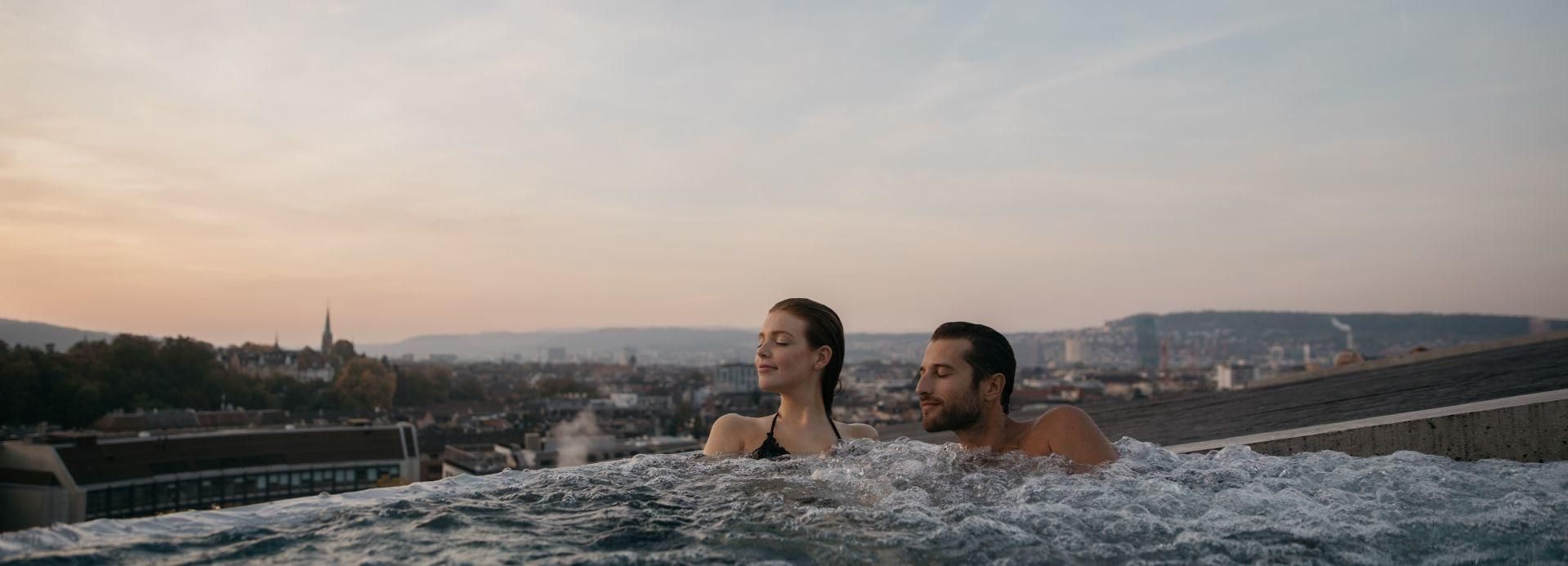 Zurich: Thermal Baths and Spa with Panoramic Views
