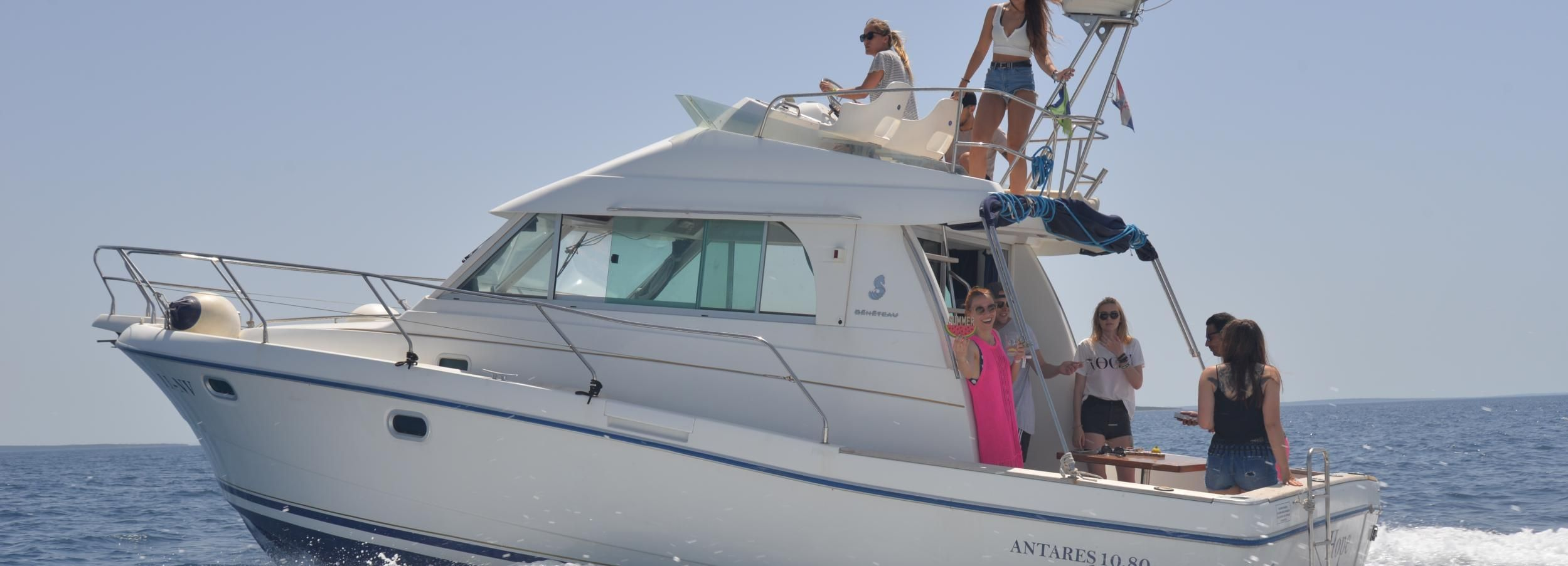From Novalja: Private Yacht Tour
