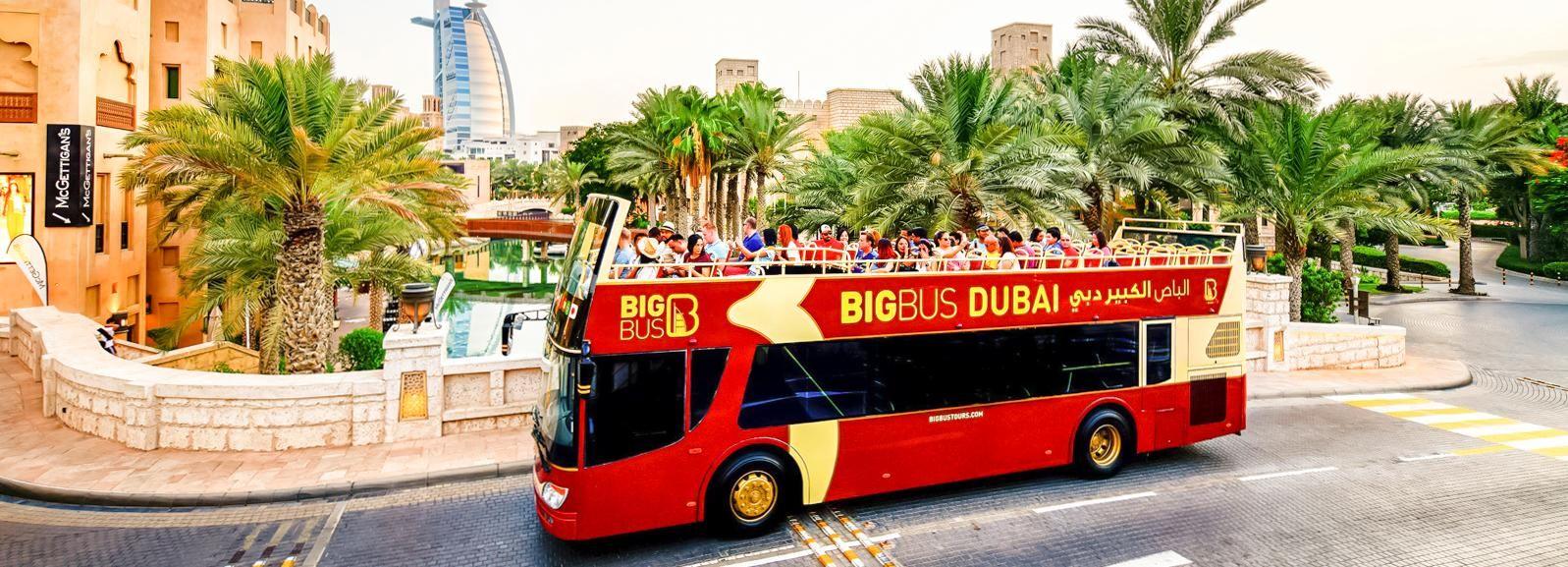 Dubai: Hop-On Hop-Off Classic, Premium or Deluxe Bus Ticket