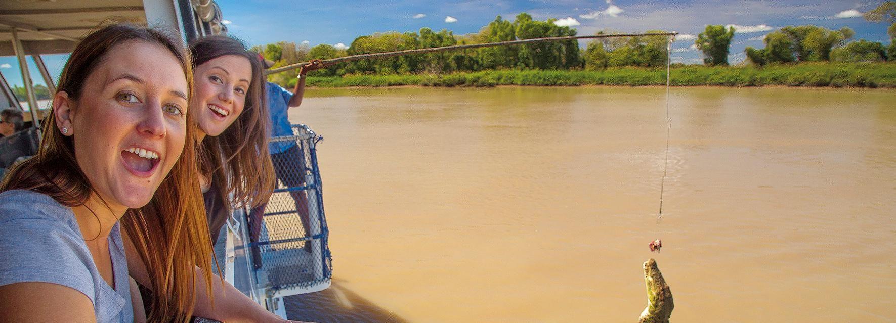Darwin: Adelaide River Half-Day Jumping Crocs Cruise