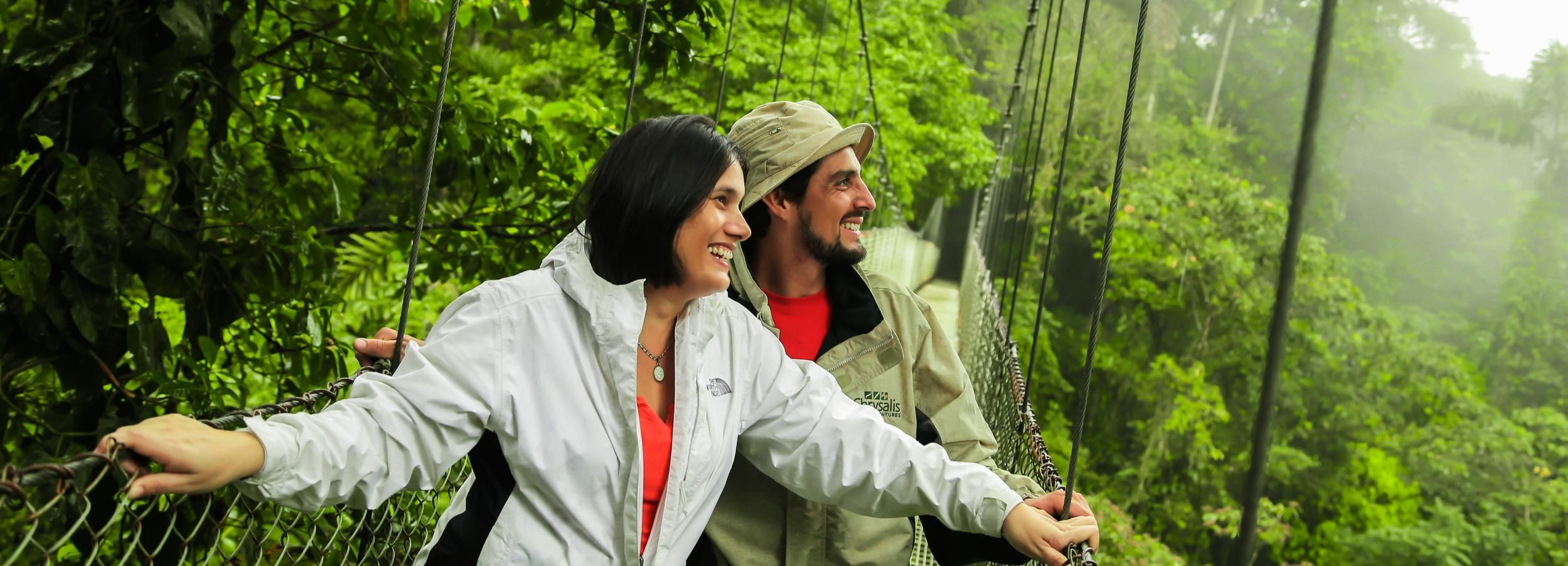 From La Fortuna: Guided Naturalist Walk on Hanging Bridges