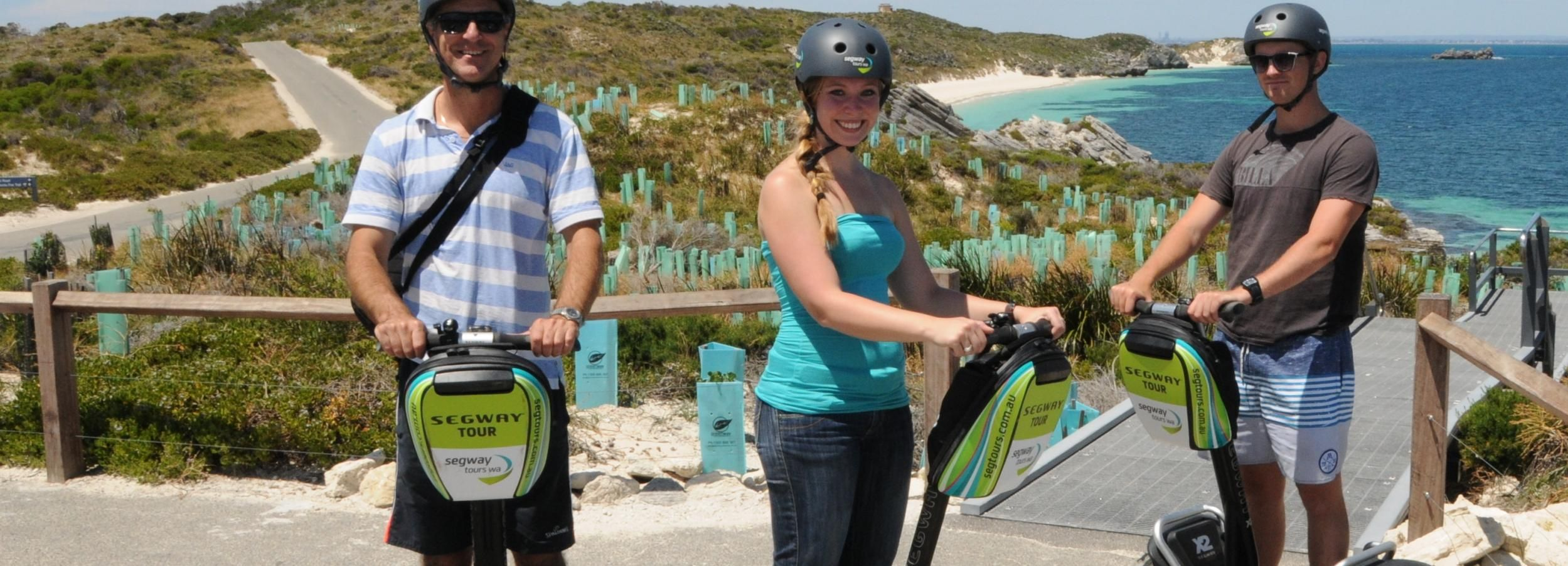 From Perth or Fremantle: Rottnest Explorer Segway Tour