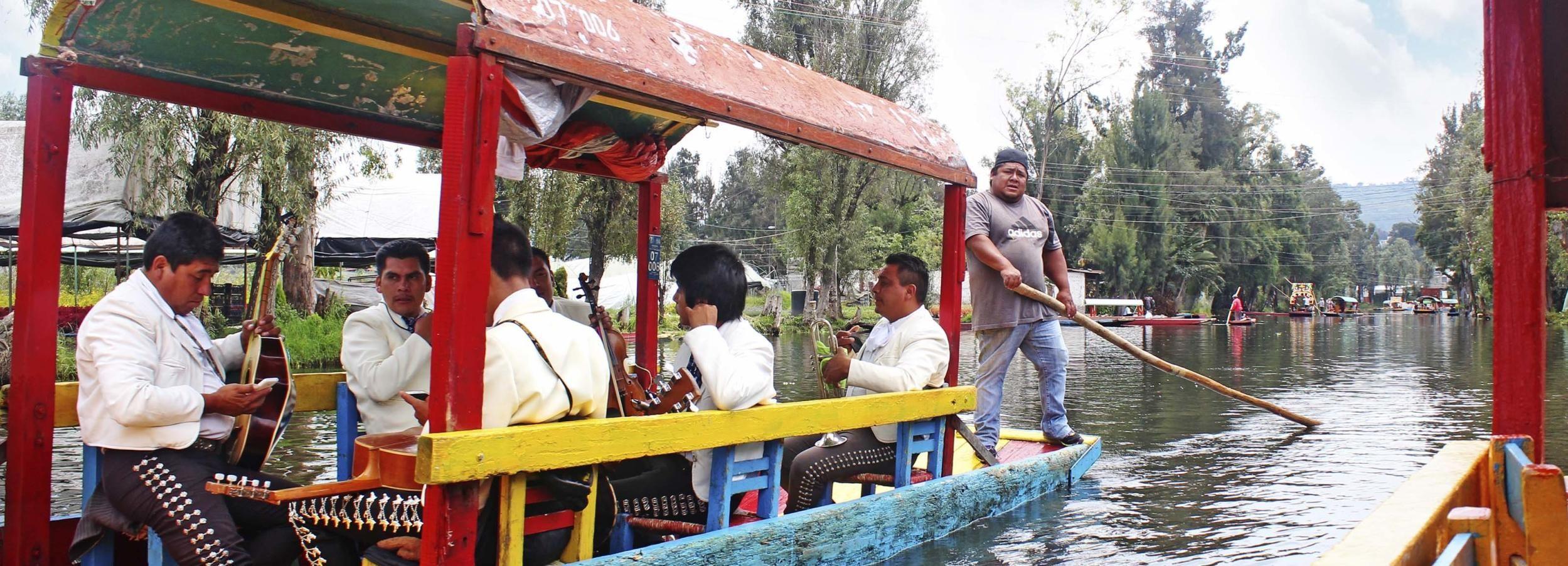 México: Xochimilco, Coyoacán y ciudad universitaria
