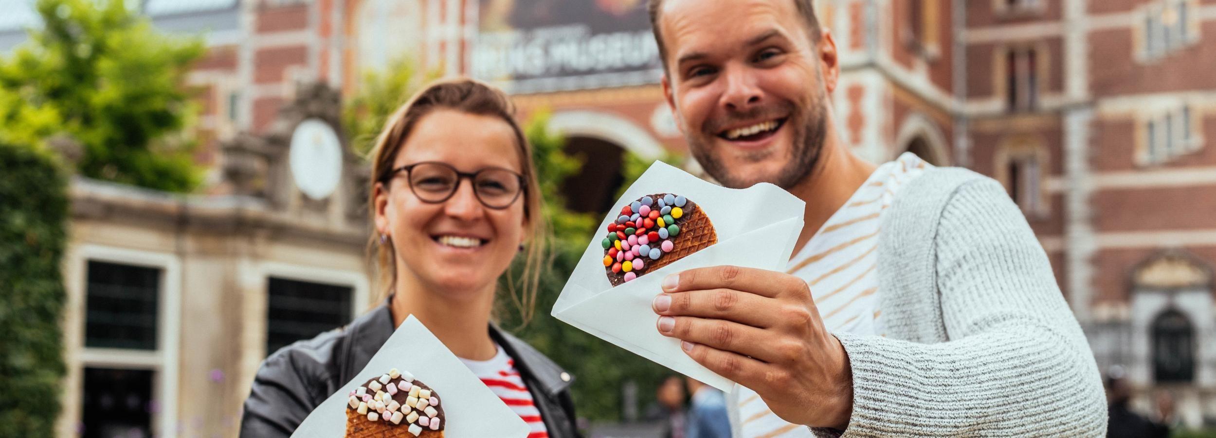 Амстердам: Частный тур по еде с местным