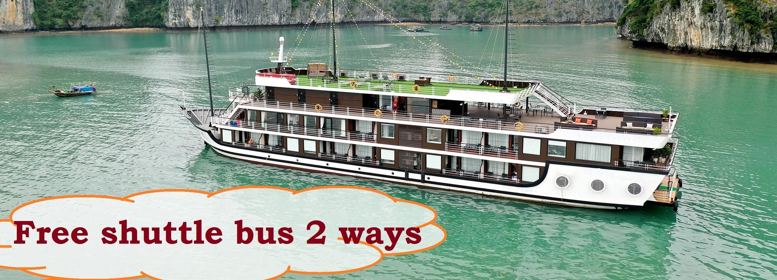 Hanoi: 2-Day 5-Star Lan Ha Bay Cruise with Transfer