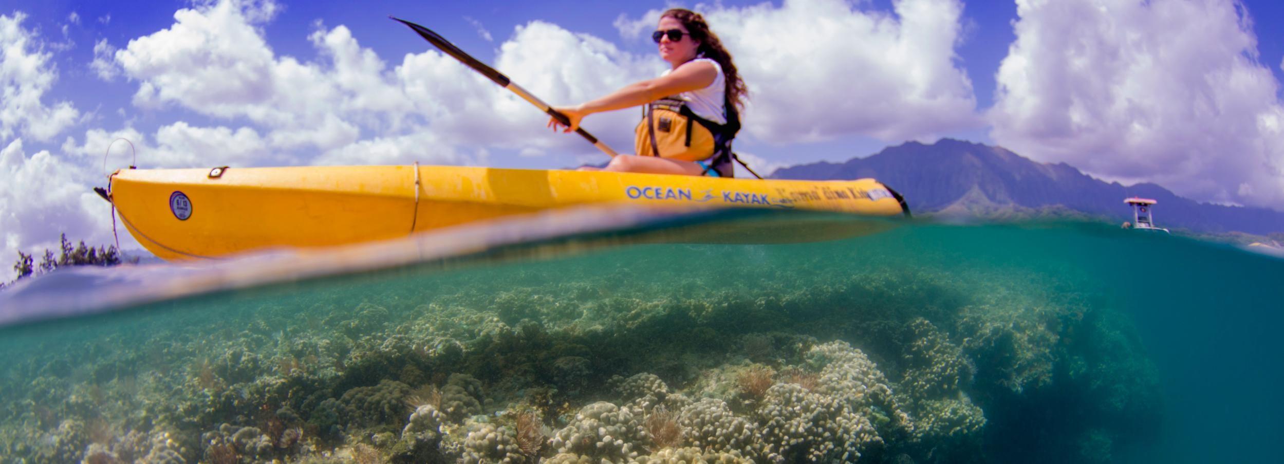 Oahu: Eco-Friendly Kayak and Snorkel Adventure