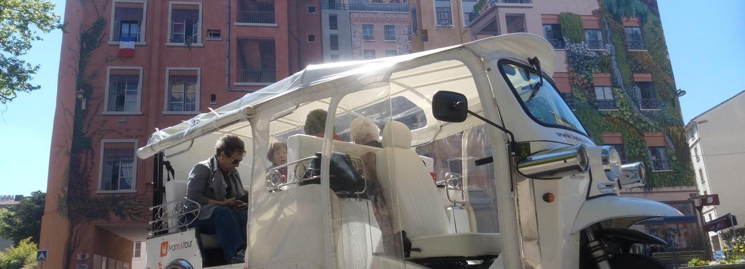 Lyon: 2-Hour Guided City Tour by Electric Tuk Tuk