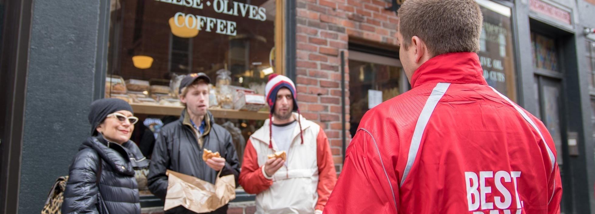 Boston: Excursão Gastronômica Italiana com Pizza, Carnes, Queijo e Pão