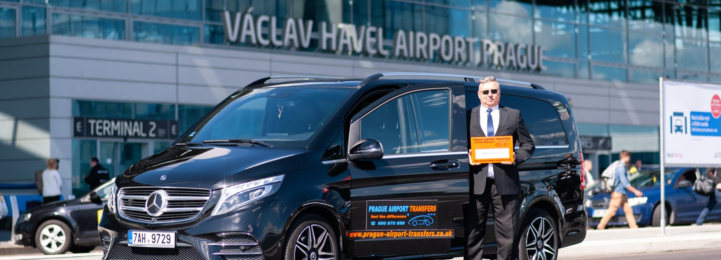 Prague Airport: Shared Shuttle Transfers