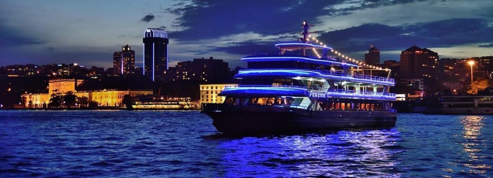 Istanbul: Bosphorus Dinner Cruise with Dance Show