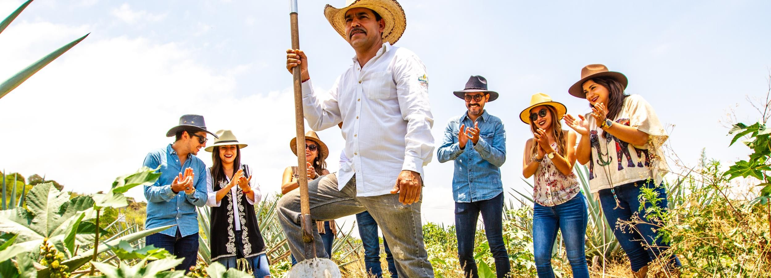 Tequila Town: Harvest Agave with a Jimador