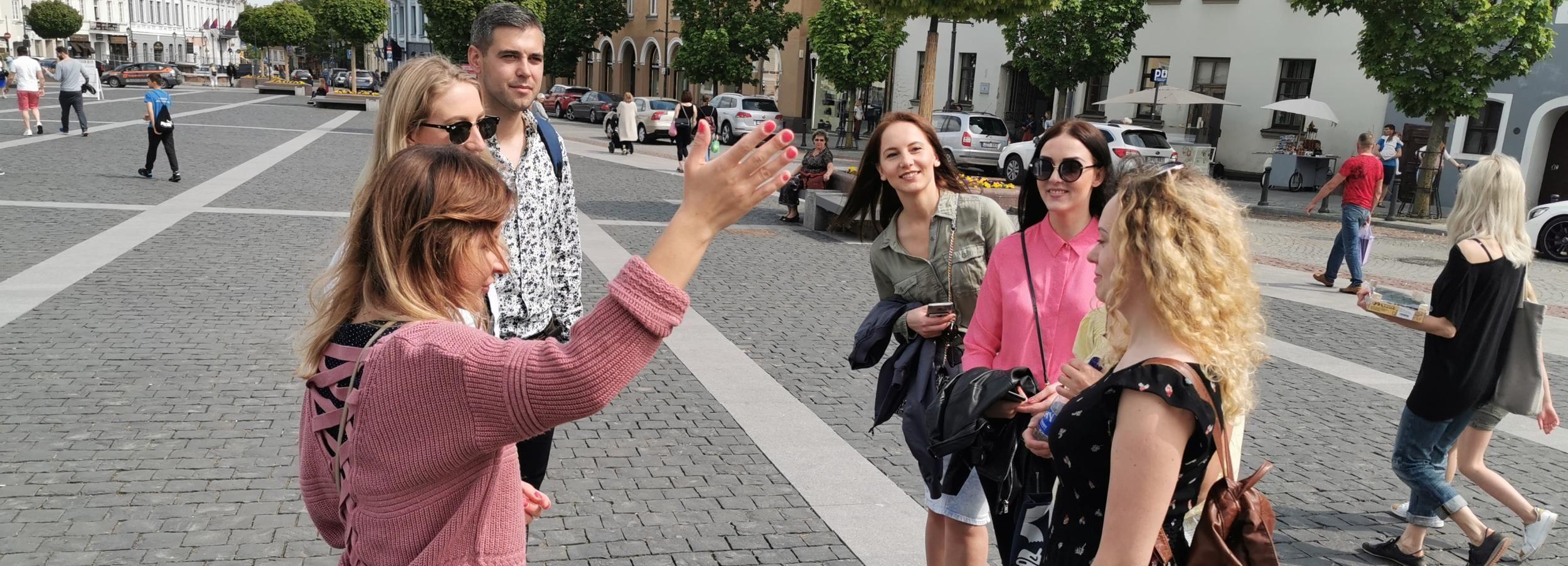Vilnius: destaques da cidade a pé