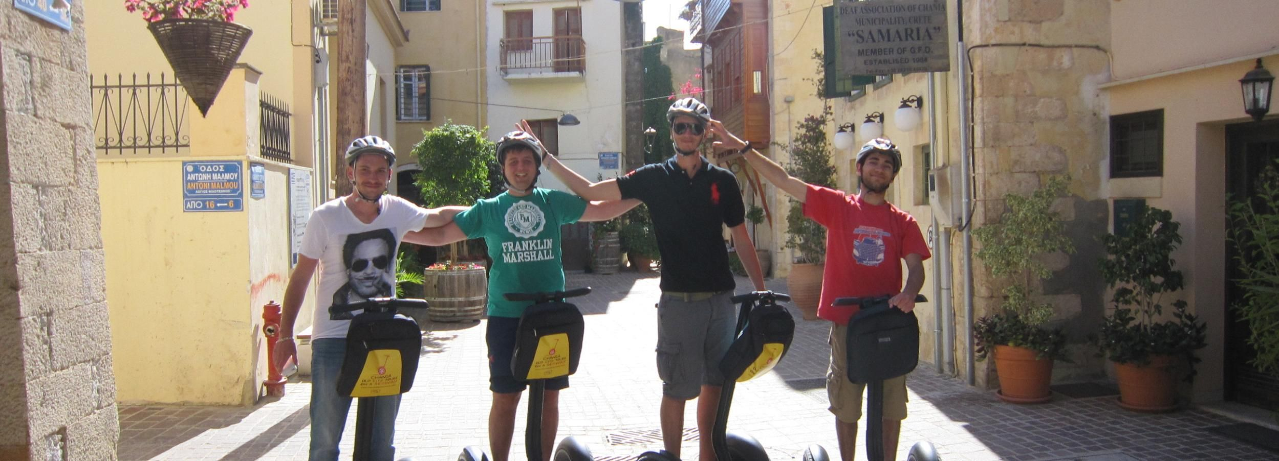 Chania: Old City Discovery Guided Segway Tour