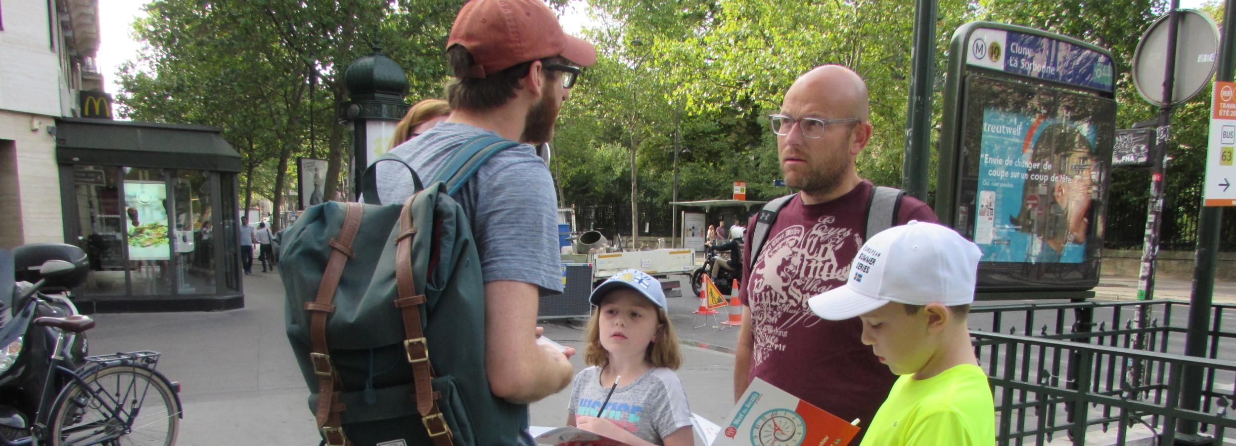 Paris: 3-Hour Interactive History Walking Tour