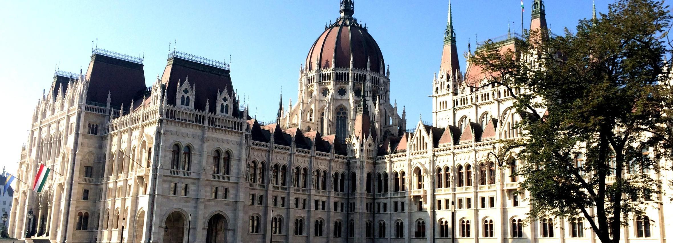 布達佩斯:議會大廈參觀和大城市之旅