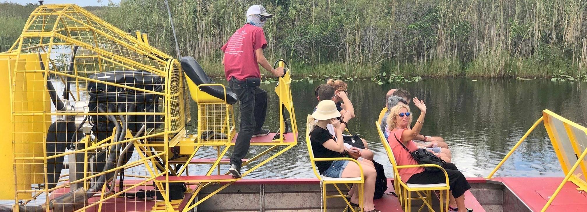 Miami: City Tour y los Everglades en un autobús convertible