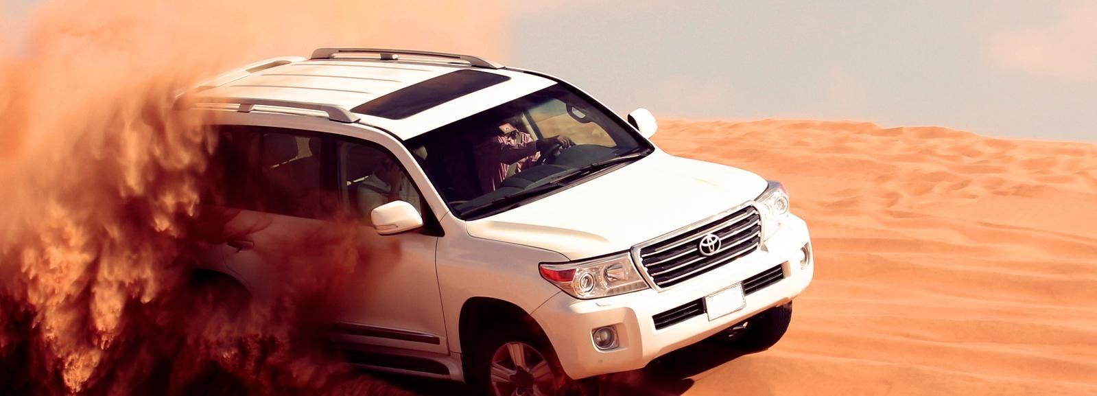 Dubaï: quad, sandboard et balade à dos de chameau