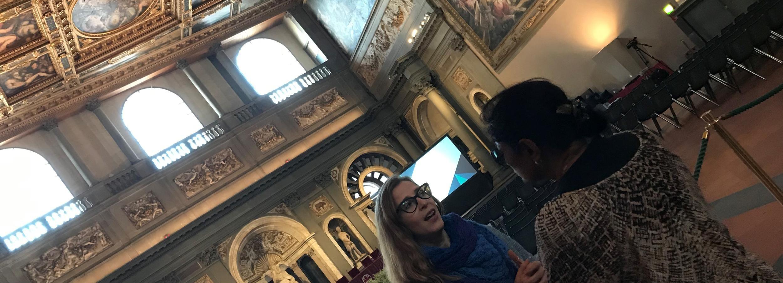 Firenze: tour a piedi di 2 ore di Inferno di Dan Brown