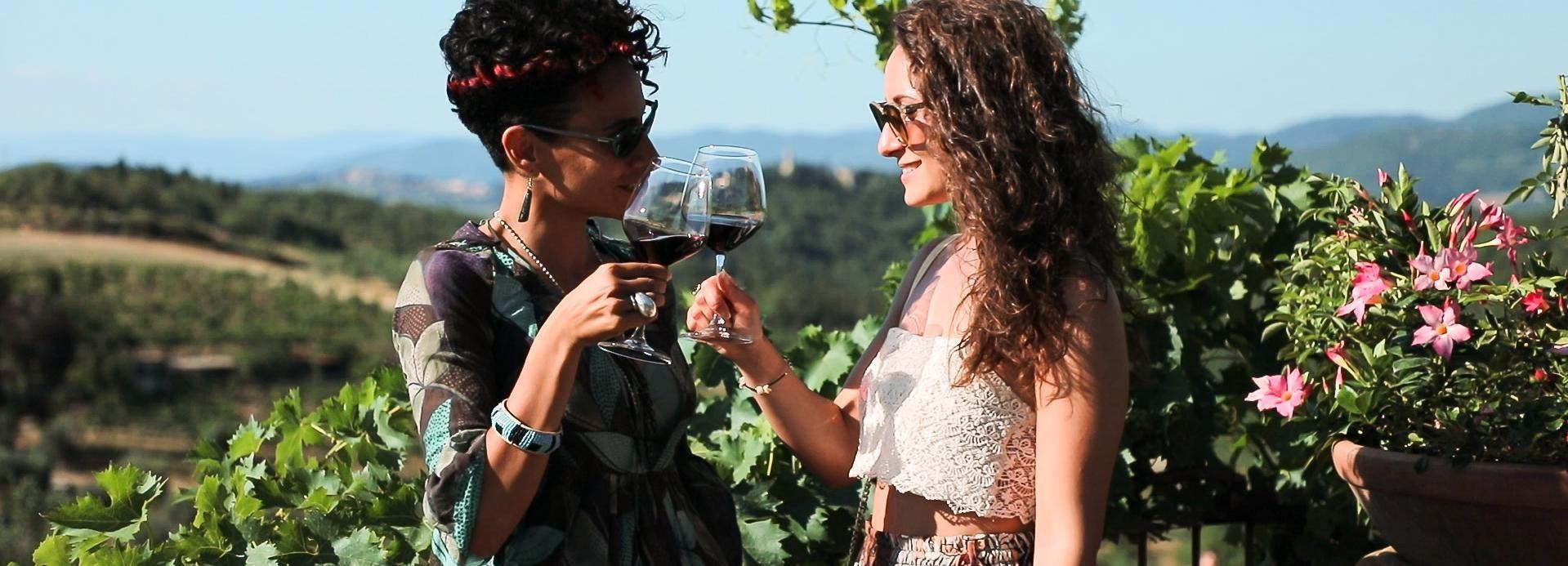 Ab Florenz: Authentische Weinprobe in Chianti