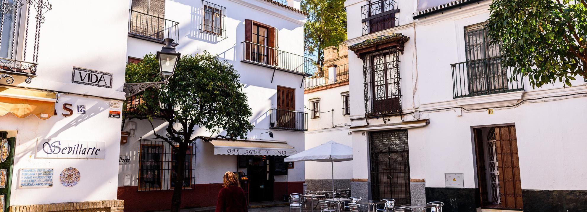 Sewilla: Santa Cruz Old Jewish Quarter Walking Tour
