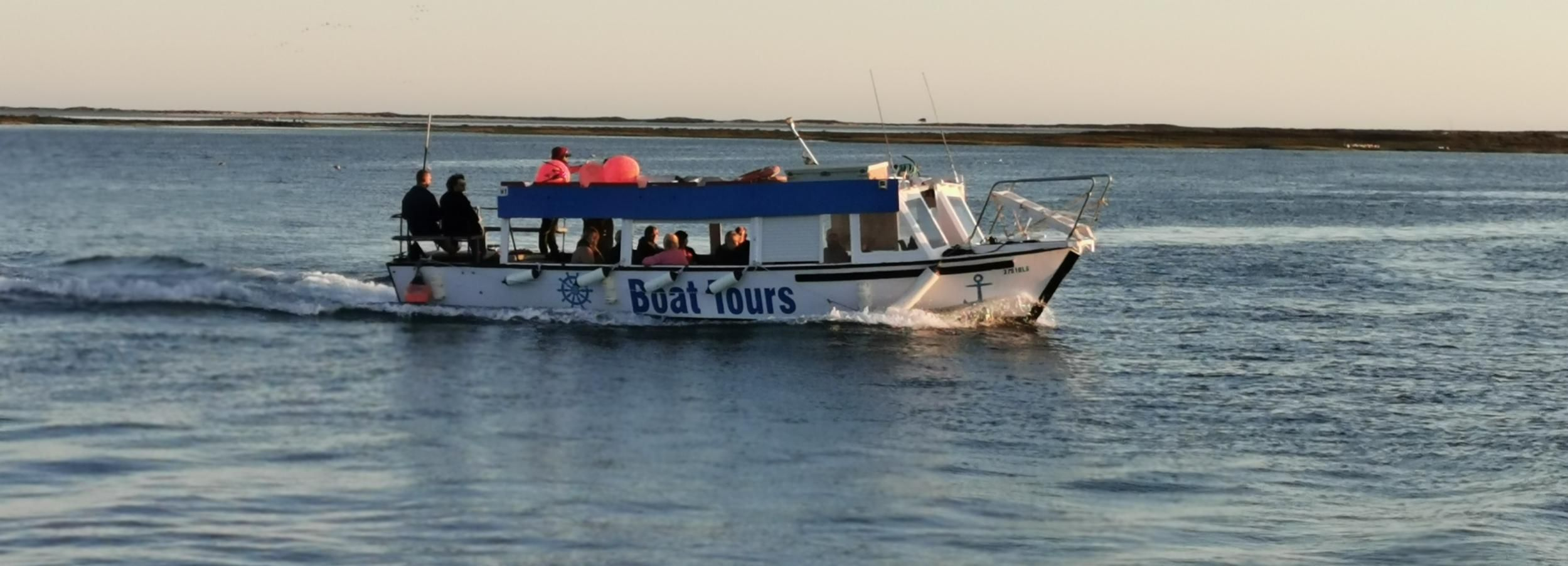 From Olhão: 3-Hour Boat Trip with BBQ Lunch and Oysters