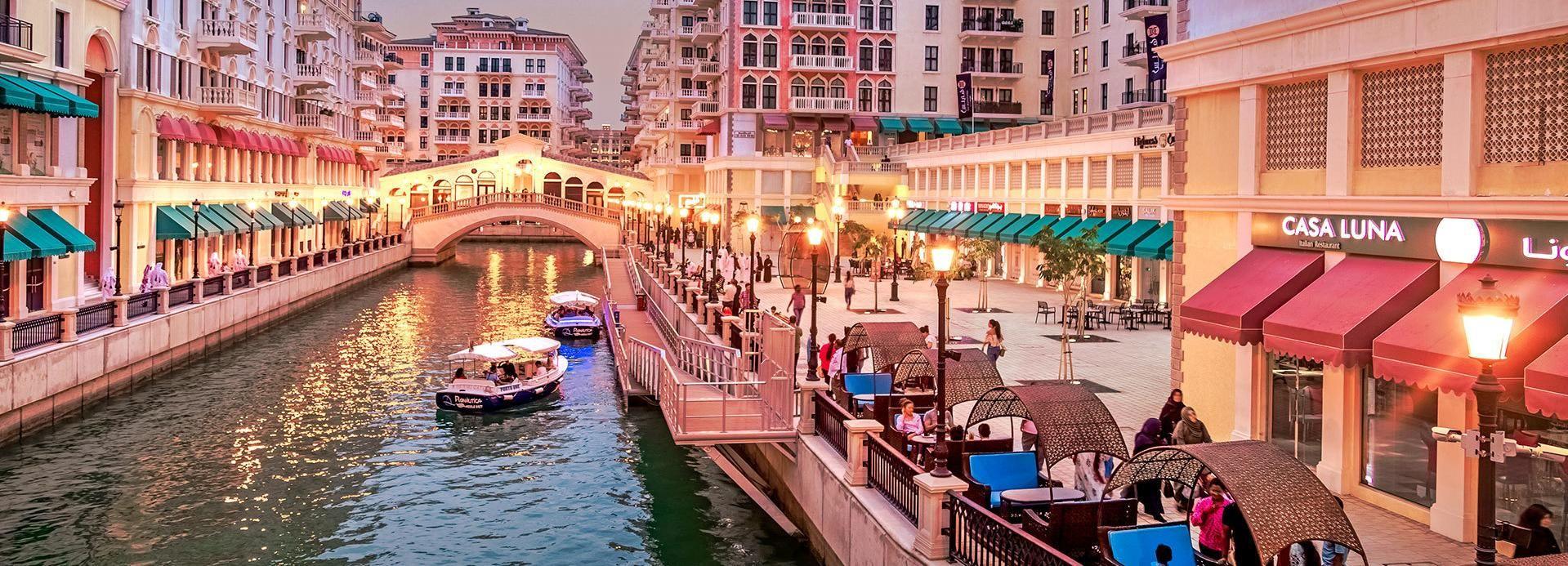 Doha: The Pearl-Qatar Food Tour & Boat Ride