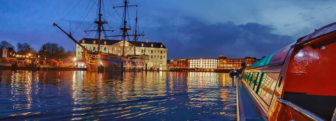 Amsterdam: Evening Canal Cruise