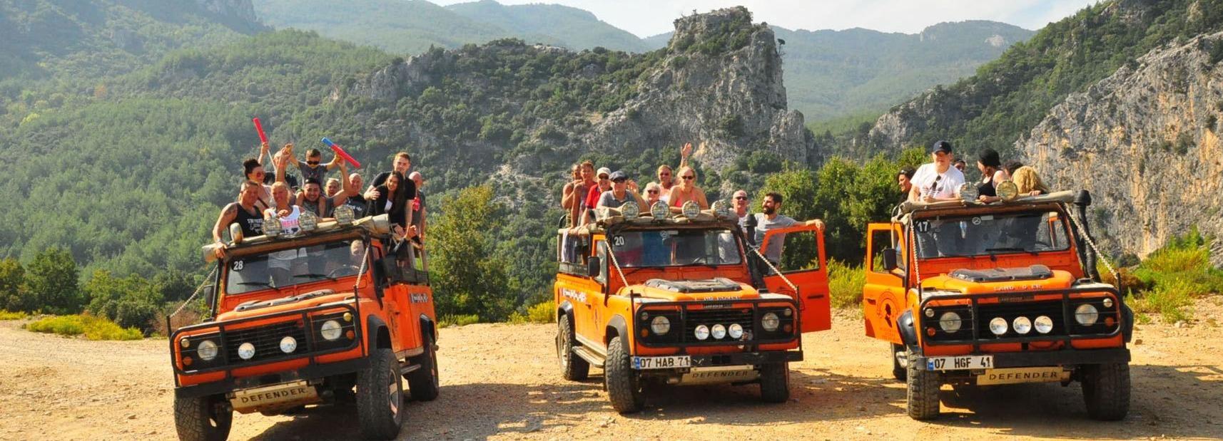 From Kusadasi: Full-Day Jeep Safari to National Park
