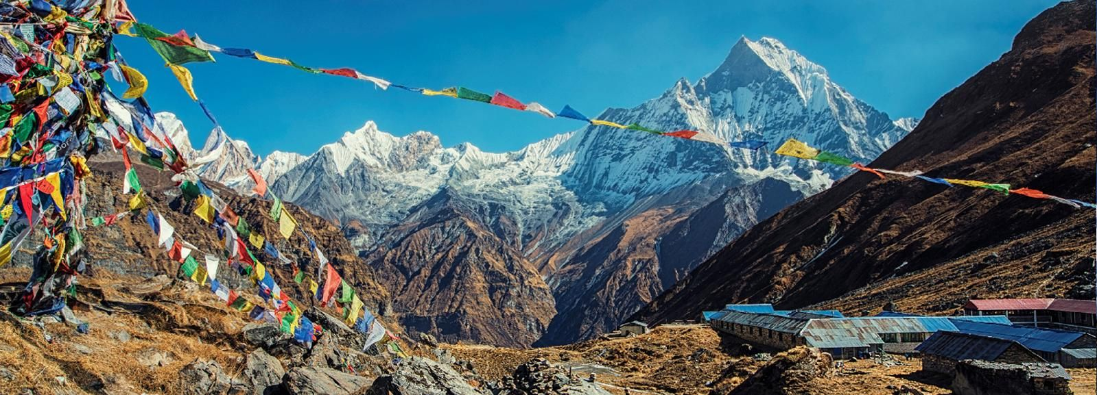 Kathmandu: 14-Day Annapurna Sanctuary Trek