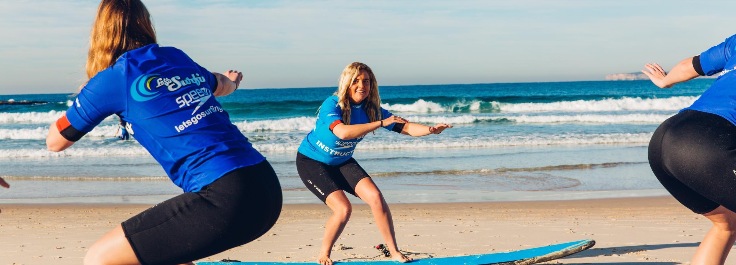 Lennox Head: 2-Hour Beginners Surfing Lesson