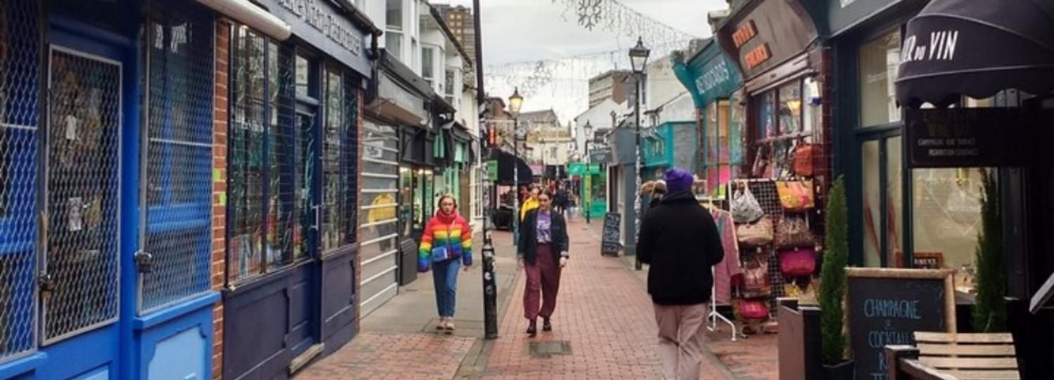 Brighton: Rundgang durch das Essen