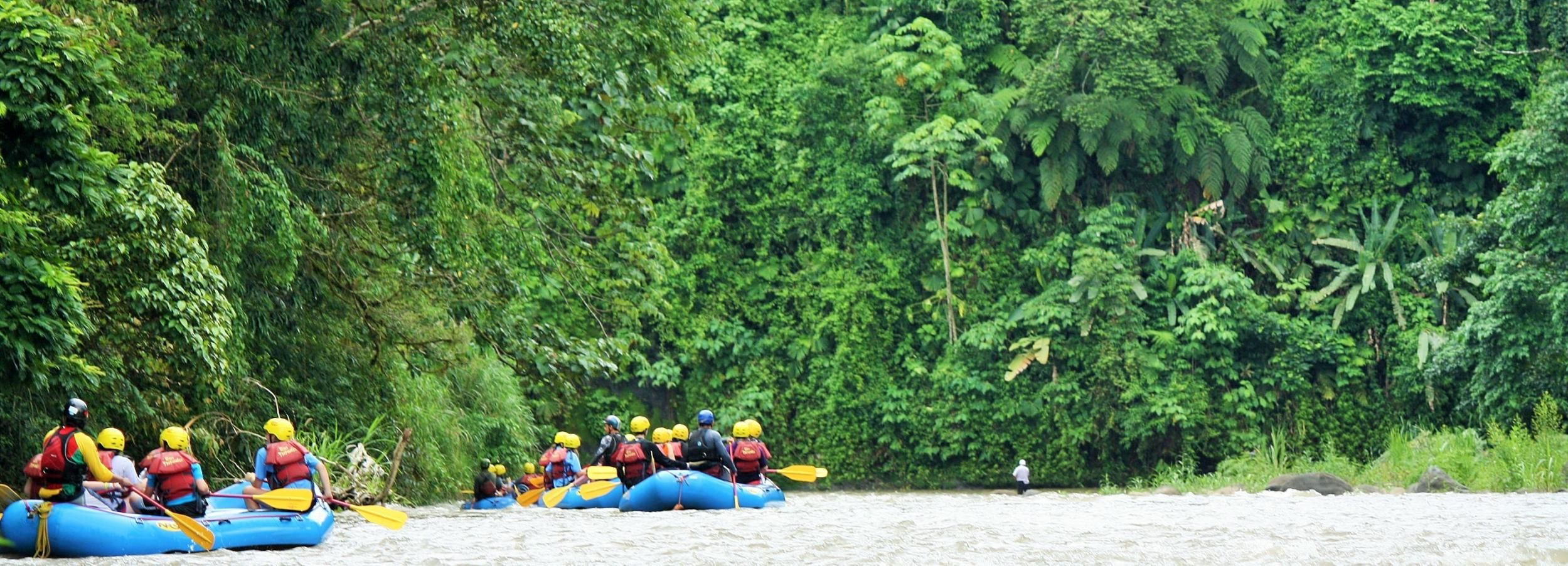 From La Fortuna: Family-Friendly Balsa River Rafting