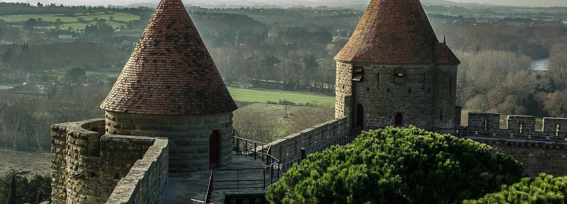 Visite privée à pied de la ville et cité de Carcassonne
