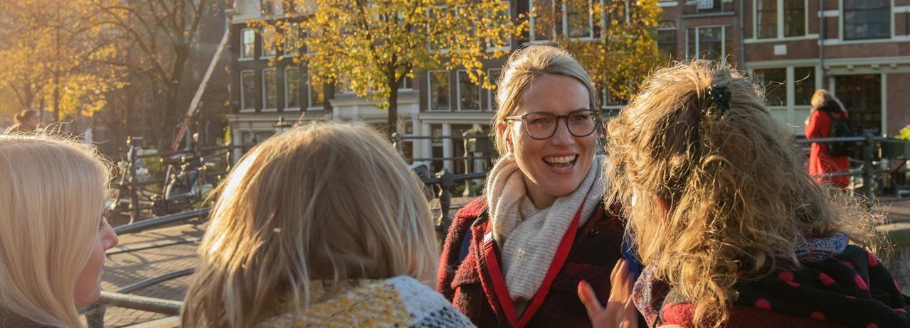 Amesterdão: Jordaan District Tour com um alemão
