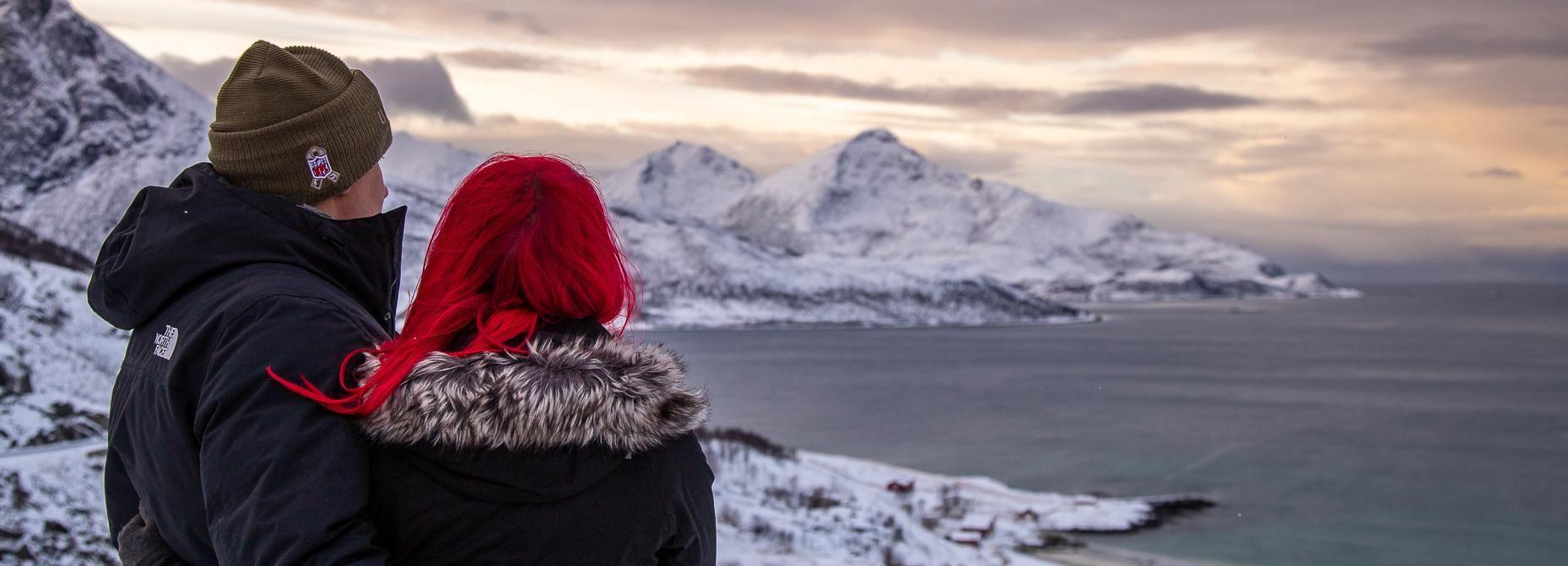 Vanuit Tromsø: dagtrip naar arctische natuur