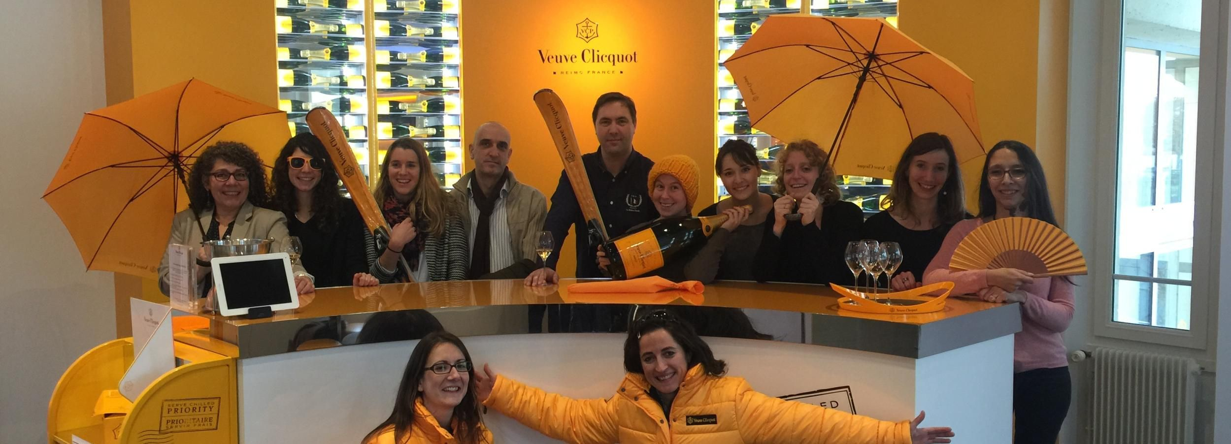 From Reims: Veuve Clicquot and Grand Cru Tasting with Lunch