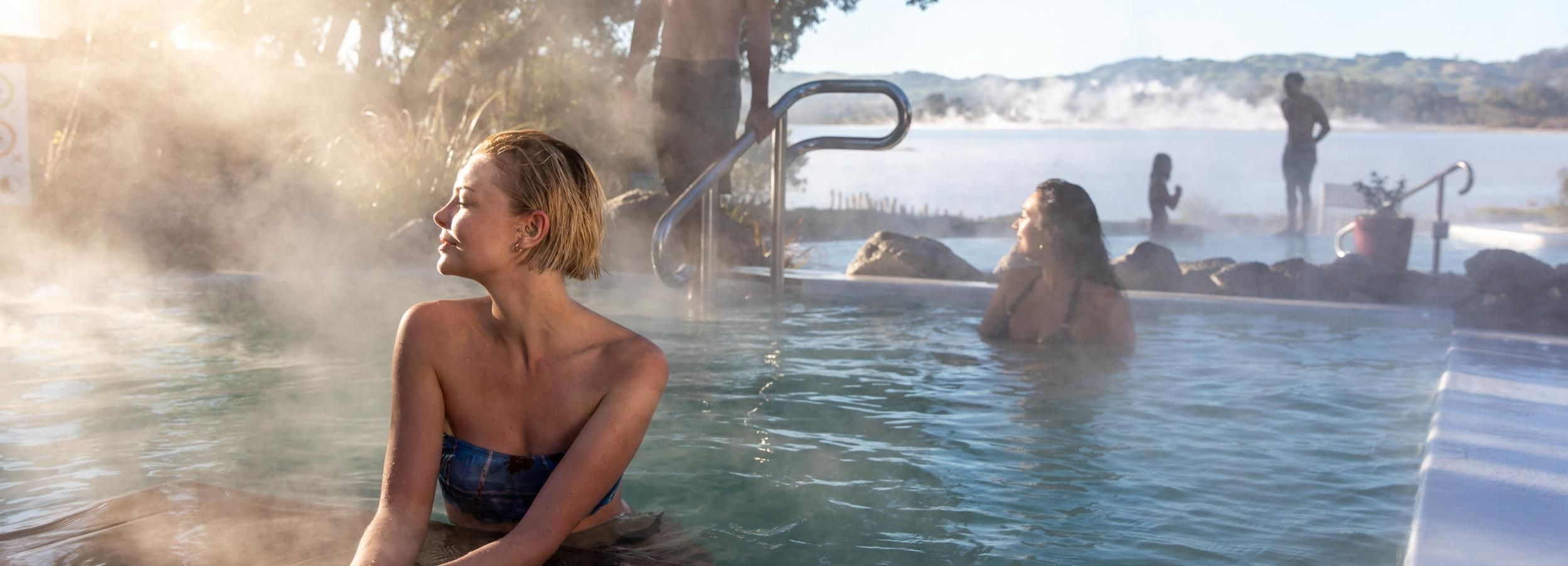 Geothermal Mineral Baths Experience: Pavilion Pools for 12+