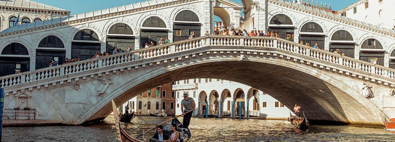 Venice: Private Gondola Ride in St. Mark's Area