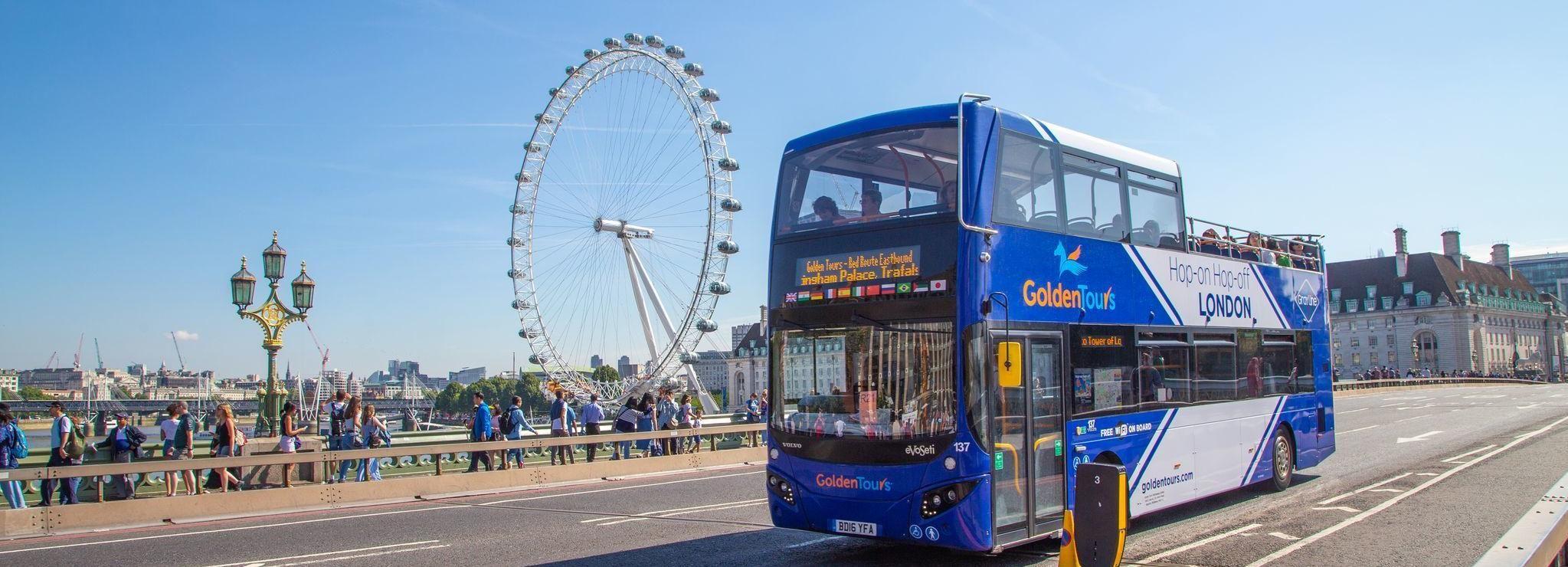 Tour de Londres en autobús turístico