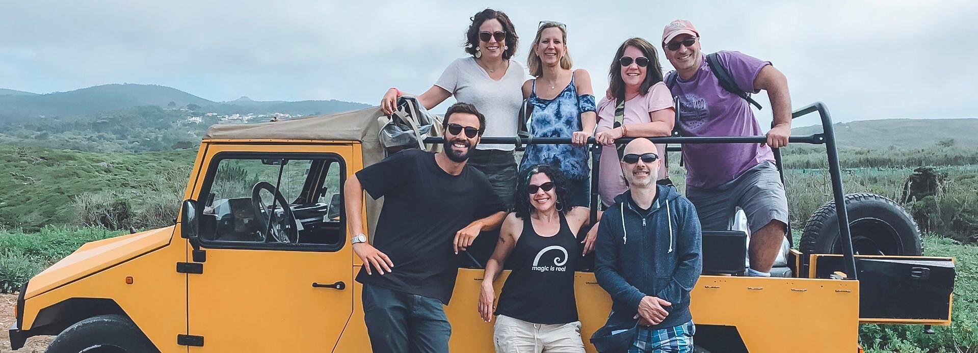 Sintra: passeio de jipe por Regaleira, Cabo da Roca e Cascais