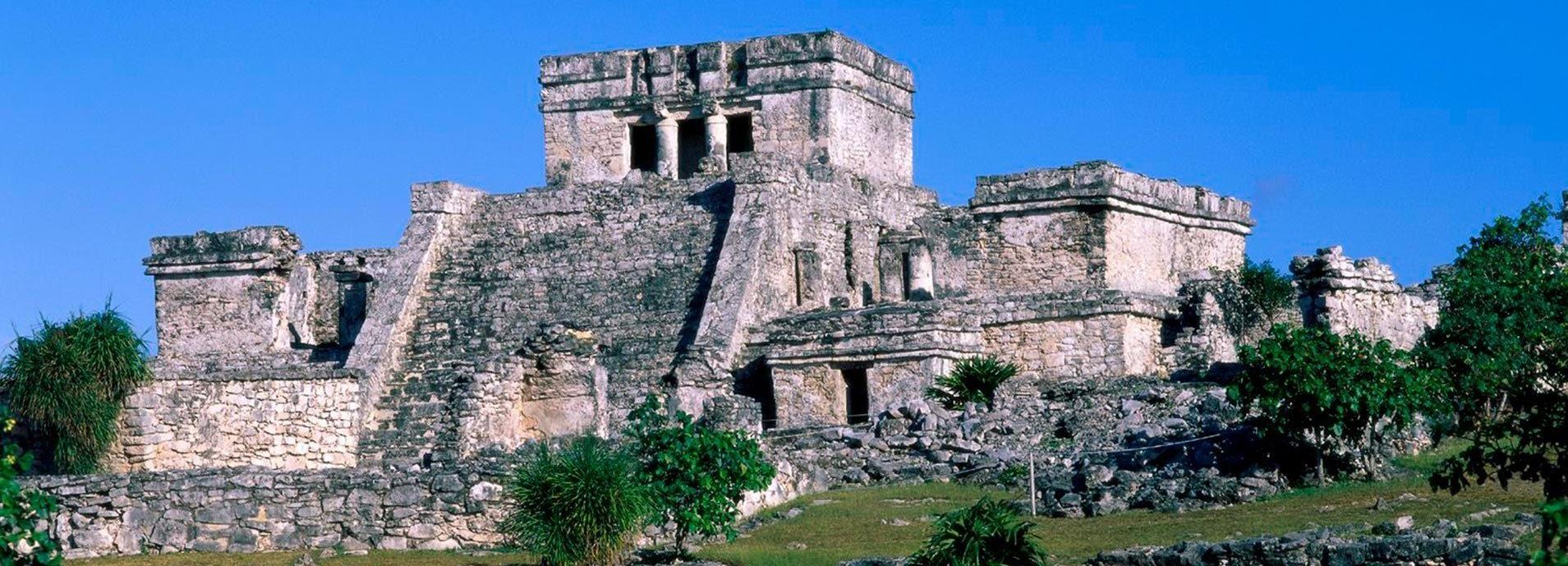 Von Playa del Carmen: Tulum Ruins & Jungle Maya Park Tour