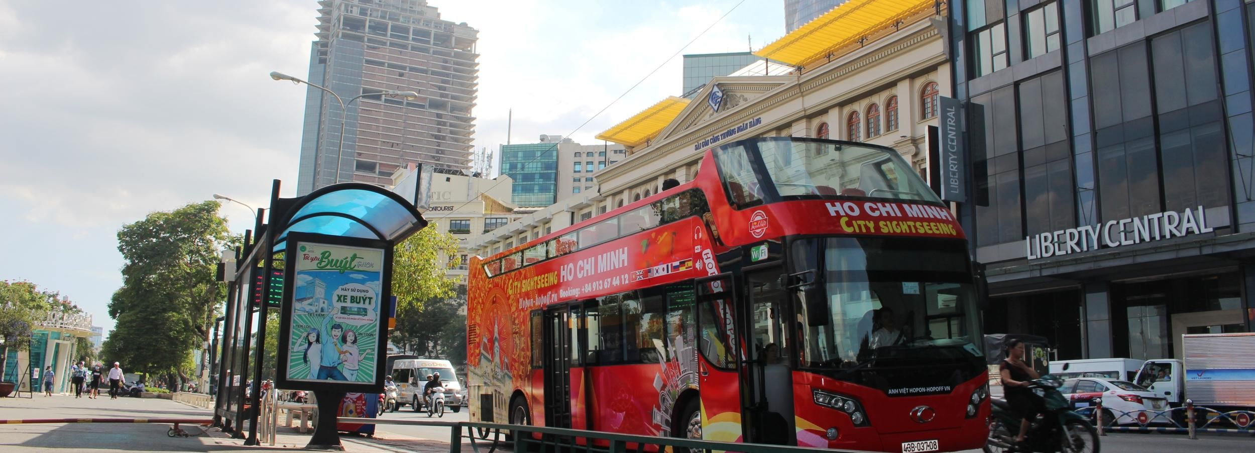 Ho Chi Minh City: Hop-On Hop-Off Bus & Mekong River Tour