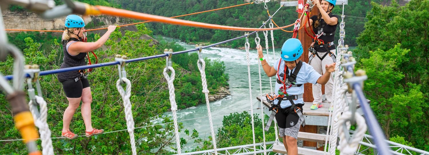 Niagara Falls, Canada: Whirlpool Adventure Ropes Course
